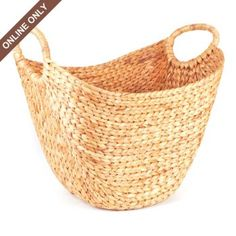 Hyacinth Scoop Basket