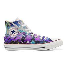 Converse All Star personalisierte Schuhe (Handwerk Produkt) Straße Style - size EU32 - http://on-line-kaufen.de/make-your-shoes/32-eu-converse-all-star-personalisierte-schuhe-113