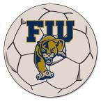 Ncaa Florida International University Cream (Ivory) 2 ft. 3 in. x 2 ft. 3 in. Round Accent Rug