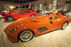 This museum in Jordan has so many very, very cool cars that the old King used to own.