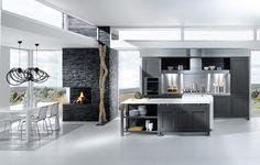 Grey and White Kitchen | ... » French Kitchen Designs from Perene » Grey White Kitchen Design
