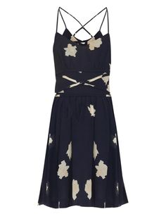 Floral-print seersucker dress | Band Of Outsiders | MATCHESFASHION.COM US