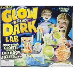 GLOW IN THE DARK CHEMISTRY SCIENCE LAB PROJECT TOY EDUCATIONAL LEARNING KIT  #SMARTLABTOYS