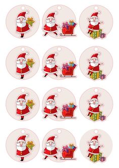 Cute Christmas Gifts, Christmas Stickers, Vintage Christmas Cards, Christmas Images, Christmas Printables, Christmas Holidays, Christmas Crafts, Christmas Decorations, Emoji Cupcake Toppers