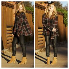 50 Cute Flannel Outfit Ideas for Fall 2014 Grunge Winter Outfits, Purple Fall Outfits, Flannel Outfits Summer, Flannel Shirt Outfit, Casual Fall Outfits, Fall Winter Outfits, Legging Outfits, Cute Outfits With Leggings, Purple Flannel