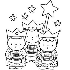 Three kings Coloring Pages Christian Christmas Crafts, Christmas Bible, Kids Christmas, Cat Coloring Page, Cartoon Coloring Pages, Colouring Pages, Les Trois Rois Mages, Holiday Celebrations Around The World, Christmas Cards Drawing