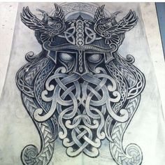 Thor the God of Thunder Tattoo idea. Thor the God of Thunder Tattoo idea. Fake Tattoos, Body Art Tattoos, Small Tattoos, Sleeve Tattoos, Art Viking, Viking Symbols, Wolf Sketch Tattoo, Tattoo Drawings, Tattoo Ink
