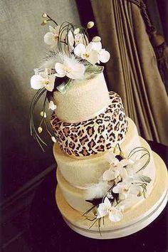 tortas para 15 años de animal print (8)