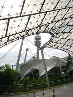 AD Classics: Munich Olympic Stadium / Frei Otto & Gunther Behnisch   ArchDaily