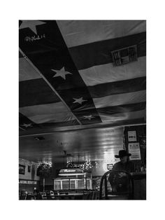 Neon Moon Fine Art Photography Black and White Honky by KClarkWest Texas Roadhouse Dance Hall Country Western