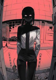Anime Art Girl, Manga Art, Character Art, Character Design, Estilo Anime, Anime Poses, Chica Anime Manga, My Hero Academia Manga, Chainsaw