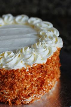 Coconut Layer Cake Filled with Lemon Curd | Beantown Baker ... adventures in a Boston kitchen