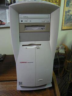 Compaq Presario 4784 Pentium 200MHz Vintage Gaming Computer PC Floppy Disk, Vintage Games, Gaming Computer, Contents, Computers, Phones, Retro, Historia, Telephone