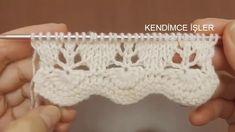 leicht neuen Start Model – Ajurlu Vest Blouse HÃ Ÿ rka Start – Knitti …, Knitting Stiches, Easy Knitting Patterns, Knitting Videos, Lace Knitting, Stitch Patterns, Knit Crochet, Crochet Patterns, Knit Edge, How To Start Knitting