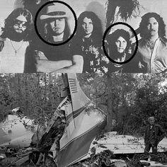 Today in 1977, 3 members of Lynyrd Skynyrd, including Ronnie Van Zant were killed in a plane crash in Gillsburg, MO