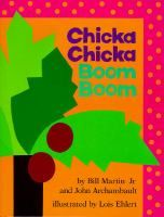 Chicka Chicka Boom Boom by Bill Martin.  Lots of alphabet fun for the little letters who try to climb the coconut tree!
