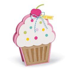 Sizzix Cupcake Fold-it