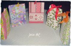 Cute gift bags handmade by me :) http://www.facebook.com/artelien