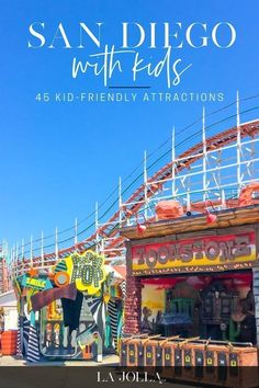 San Diego with kids. Kid-friendly attractions that you must visit while you're in town!  La Jolla Mom #travel #sandiego San Diego Attractions, Stuff To Do, Things To Do, Local Moms, Toddler Fun, La Jolla, Beach Fun, Family Activities, Places To Visit