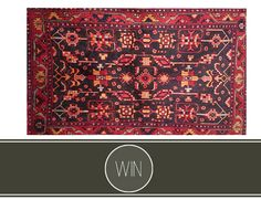 Win: Hamadan Rug from Ravats