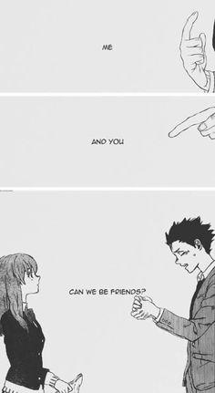 Koe no Katachi Manga Anime, Sad Anime, Anime Love, Manga Art, Anime Art, Manga A Silent Voice, Koe No Katachi Anime, A Silence Voice, Anime Triste