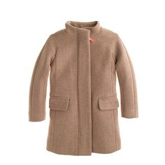 J.Crew - Girls' stadium-cloth cocoon coat