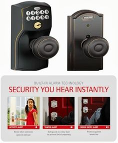 schlage tamper alert - Your home holds the things most important to you. To protect them, Schlage offers a security solution that notifies you when something is happening at the door