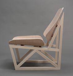 Ian Cooke, jeune designer américain basé du à Philadelphie nous présente son projet de chair réalisée du côté de Copenhague dans le cadre d'un workshop