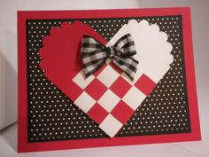 woven heart rubber stamp - Google Search