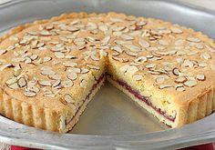 The Galley Gourmet: Italian Almond Raspberry Tart Tart Recipes, Sweet Recipes, Baking Recipes, Almond Tart Recipe, Almond Recipes, Sweet Pie, Sweet Tarts, Pie Dessert, Dessert Recipes