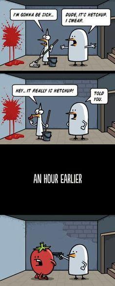 & thats how u make ketchup..