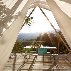 Een kleinschalig tentenhotel in Portugal, met zwembad. Aan rand natuurgebied Serra de Estrela. Rust, lekker eten, een prachtige omgeving!