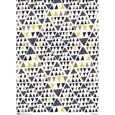 Wrapping Paper Sheet by Leah Duncan.