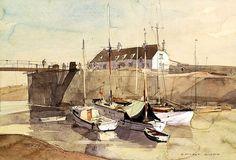 Rowland Hilder - Porlock Weir