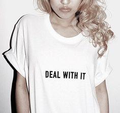 Mode trifft auf Rap: 'Deal with it'. Hier entdecken und shoppen: http://sturbock.me/Xev