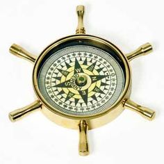 The antique original golden wheel shaped compass made up of pure brass could be a beautiful addition to your drawing room. An exclusive show piece prepared by master artisans of Jaipur is sure to be admired by your guests. The item being handmade; the fine design, pattern and color tone of the product may vary slightly from that shown in the image.http://handicrafts.exoticabazaar.com/view/7962-7-antique-wheel-design-pure-brass-real-compass-225.html