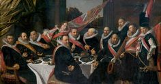 Frans Hals, Haarlem NL, th Officers of St Jorrit. Amazing