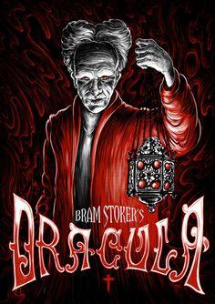 Vampire Movie Poster Art : Bram Stoker's Dracula 1992 by Studio Muti Art Best Horror Movies, Classic Horror Movies, Horror Movie Posters, Movie Poster Art, Scary Movies, Comics Vintage, Coppola, Bram Stoker's Dracula, Horror Artwork