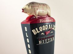 Russell Blood Alley Bitter Tap Handle by Atmospherics, via Flickr