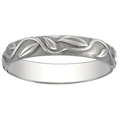 Wedding band - I like the nature aspect of it and how it's not so run of the mill.