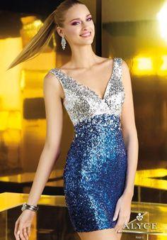 Alyce Short Dress 4347 at Prom Dress Shop