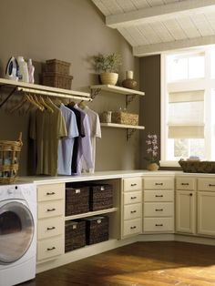 a good neutral-landry room remodel ideas, paint its from Behr