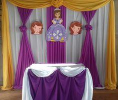 Decoracion de Princesa Sofia
