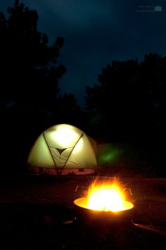 Camping Nights- miss doing this with all my babies! :(