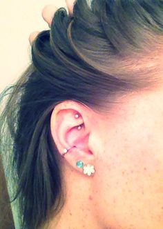 Conch piercing & rook- I already have the rook, thinking about getting my conch pierced!