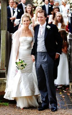 Prince Harry and Prince William's stepbrother, Tom Parker Bowles, married Sara Buys in the UK in September 2005.