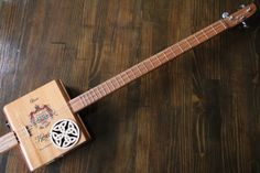 Cigar Box Guitar 3 String The Coleman by MonkeyPox on Etsy, $110.00