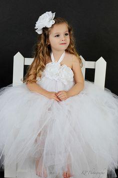 5262b08e4d6 I like the top of this tutu dress for the flower girls Cute Flower Girl  Dresses