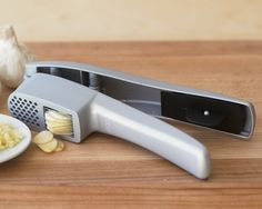 Williams Sonoma Garlic Press and Slicer @Amy Schuff It doesn't have to be this one, I just want a garlic press.