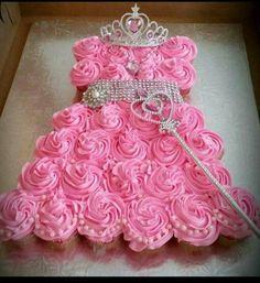 Princess Gown Cupcakes